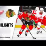 Chicago Blackhawks - Detroit Red Wings huippuhetket 24/1/21