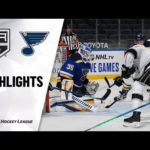 St. Louis Blues - Los Angeles Kings huippuhetket 25/1/21